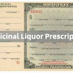 medicinal liquor prescription