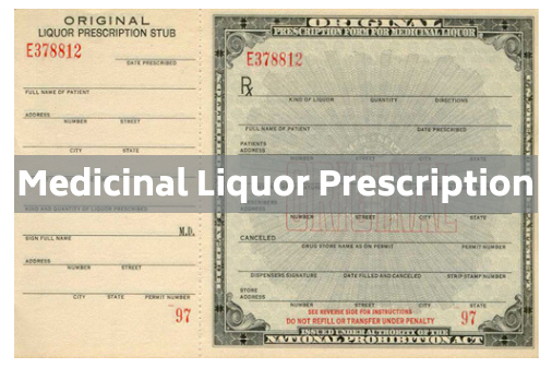 medicinal liquor prescription